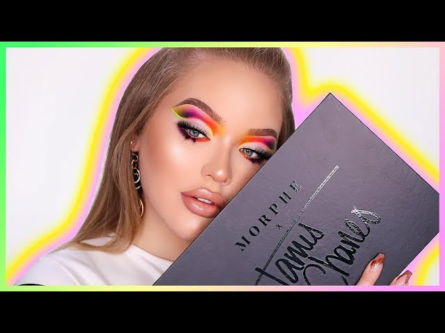 Trying The James Charles X Morphe Palette