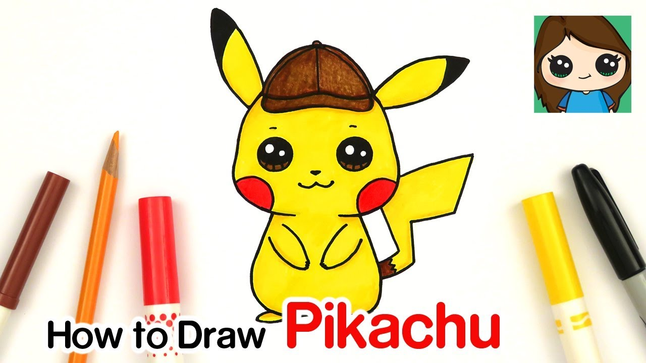 pokemon detective pikachu movie coloring pages