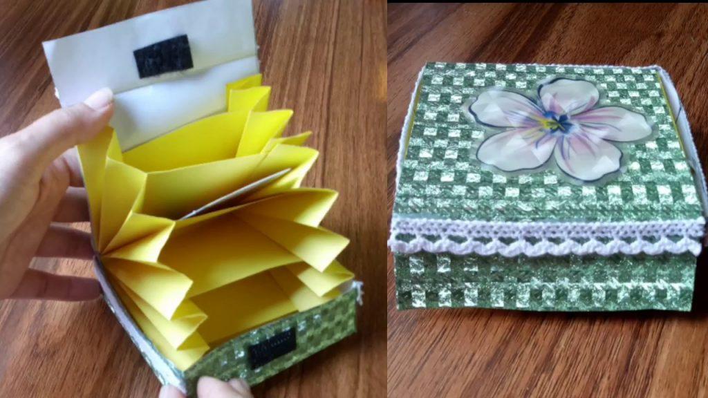 Origami Twist Box Tutorial - YouTube | 576x1024