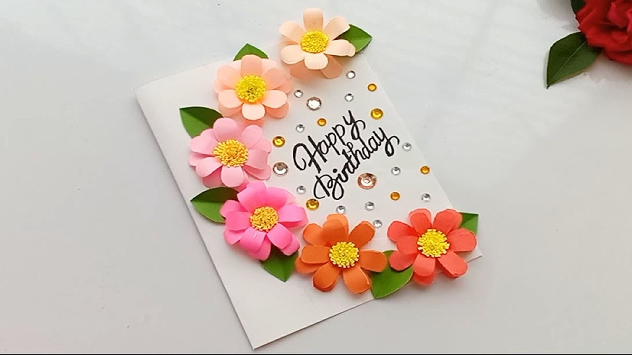 How To Make Special Birthday Card For Best Friend Diy Gift Idea