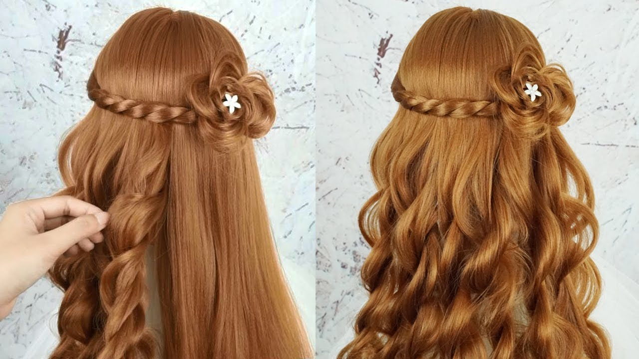 Easy Beautiful Hairstyles For Girls - Hairstyles For Girls For