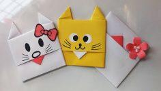 Origami Envelope Box Instructions - Paper Kawaii | 133x236