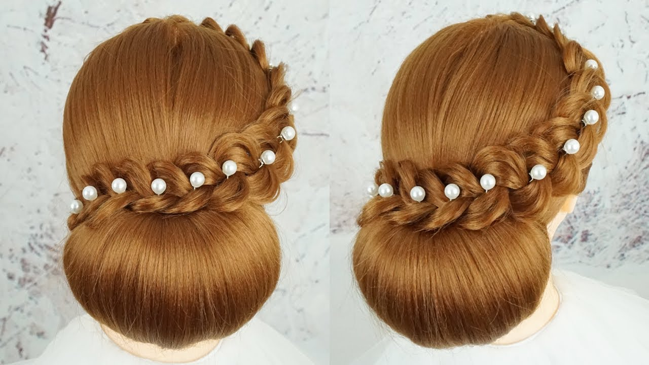 Most Beautiful Bridal Hairstyle Tutorial 12 - Easy Hairstyles