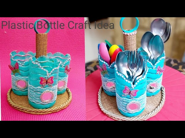 Plastic Bottle Craft Idea Easy Best