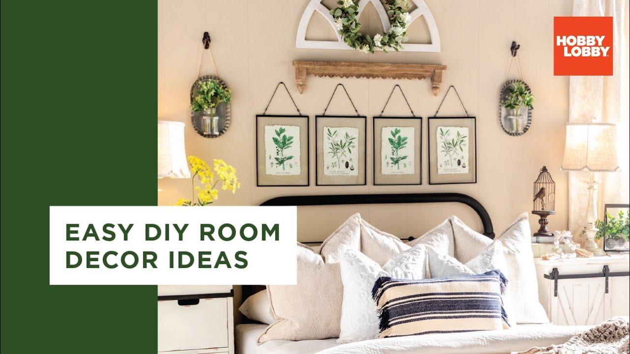 Easy DIY Room Decor Ideas – Bohemian & Farmhouse  Hobby Lobby®