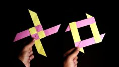 COOL PAPER BOOMERANG - How to make a Paper Boomerang that Comes ... | 133x236