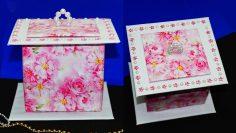 How to Make Jewelry Box Origami - YouTube   133x236