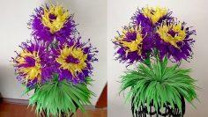 How to Make a paper flower pot « Papercraft :: WonderHowTo | 133x236