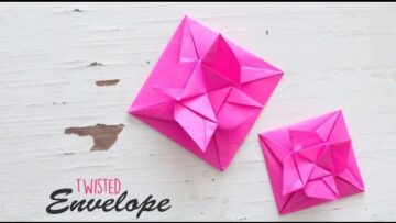 Flower Envelope Bizimtube Creative Diy Ideas Crafts And Smart Tips