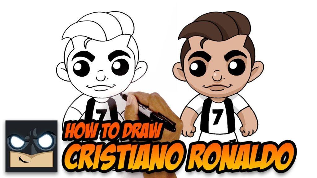 How To Draw Ronaldo Step By Step Tutorial