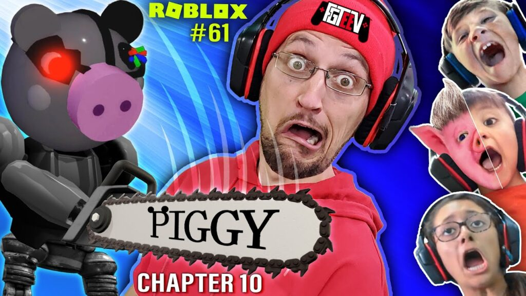 Piggy Alpha Chapter 7 Roblox Roblox Piggy The Mall Chapter 10 Fgteev Multiplayer Escape The Secret Is Out